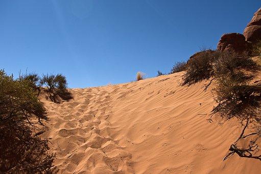 Sands Near Skyline Arch, Sandstone, Utah, Landscape