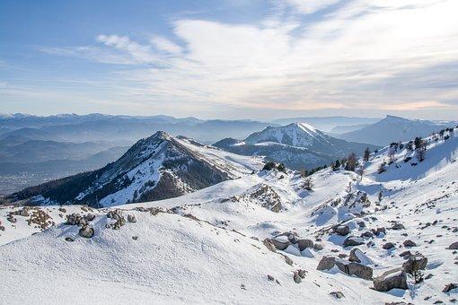 Snow, Ski, Winter, Cold, Mountains, Nature, Adventure