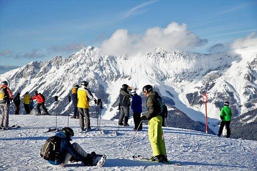 Winter, Skiing, Winter Sports, Panorama, Tyrol, Ellmau