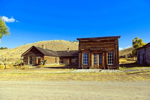 Turner House And Assay Office, Montana, Usa, Bannack