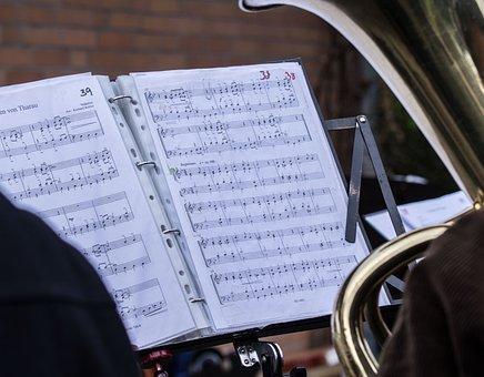Notenblatt, Music, Sheet Music, Clef, Staves, Musician