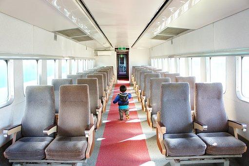 Electric Train, Train In The, Seat, Bullet Train