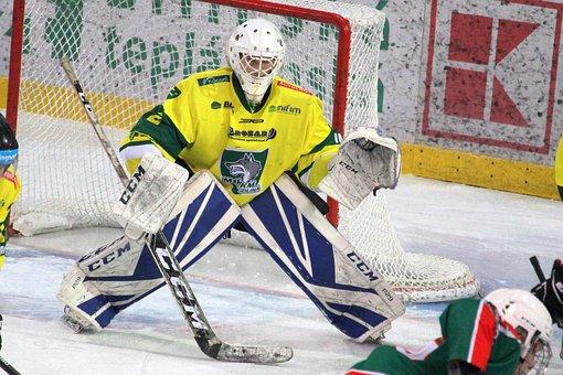 Hockey, Goalkeeper, Sports, Helmet, Mask, Competition