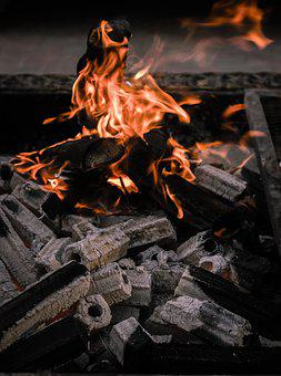 Fire, Coal, Burn, Flame, Firewood, Heat, Hot, Fireplace