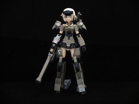 Young, Lady, Female, Toy, Action, Figure, Figurine