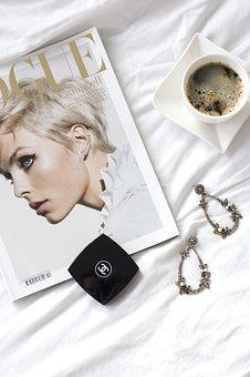 Vogue, Magazine, Fashion, Beautiful, Beauty, Coffee
