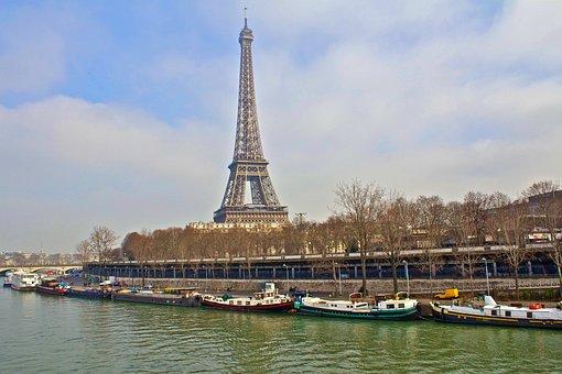 France, Paris, Eiffel Tower, Architecture, Landmark