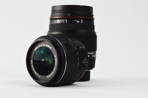 Lenses, Nikon, Camera, Photo Camera, Photography