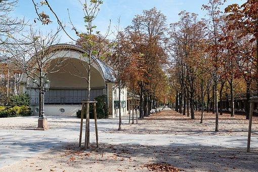 Baden Baden, Pump Room, Architecture, Summer, Park