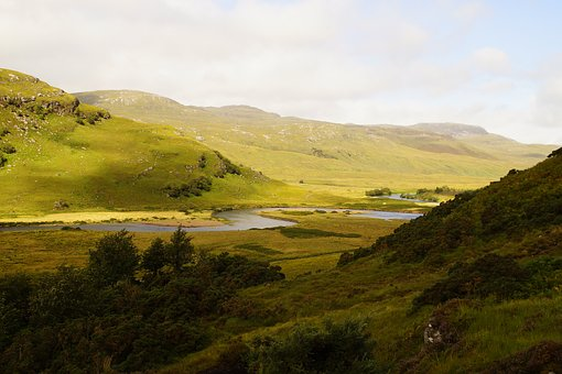River, The River Turns, River Bends, Waters, Scotland
