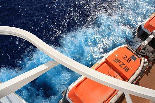 Cruise, Ship, Sea, Cruise Ship, Vacations, Blue, Ocean