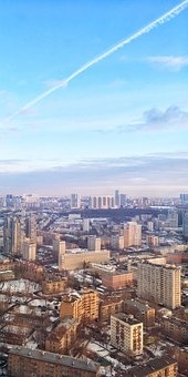 Moscow, Russia, Soviet, Ussr, City, Moscow-city