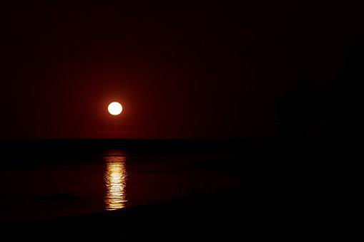 Sunset, Twilight, Evening, Mood, In The Evening