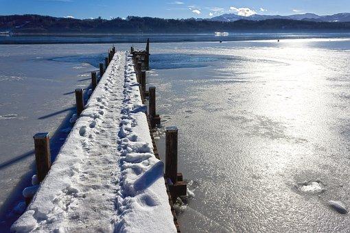 Landscape, Winter, Web, Alpine, Hair Dryer, Snow, Lake