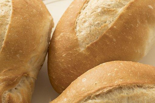 Bobbin Lace, Bread, White, French, Bar, Birote, Twisted