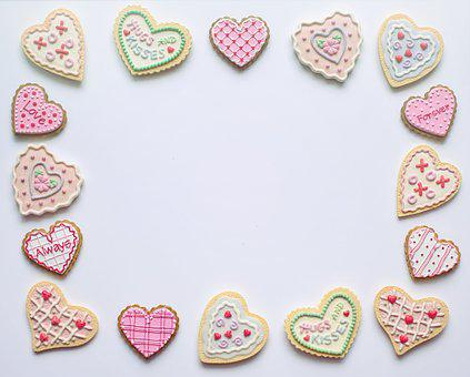 Valentine's Day, Valentine, Border, Frame, White Space