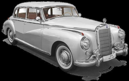 Mercedes Benz, W186, Type 300, Adenauer, Isolated