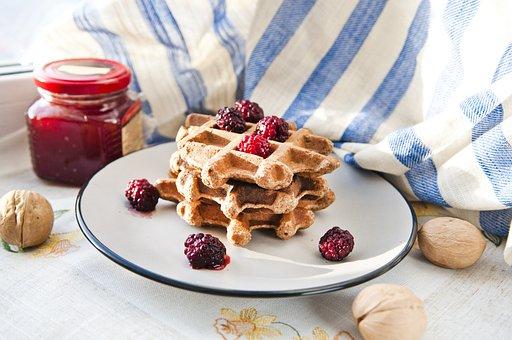Wafer, Pp, Proper Nutrition, Hls, Breakfast, Jam, Nuts