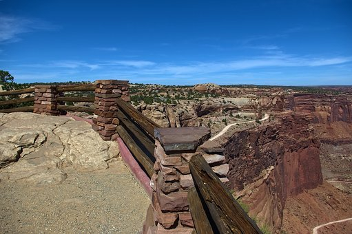 Shafer Canyon Overlook, Desert, Canyonlands, National
