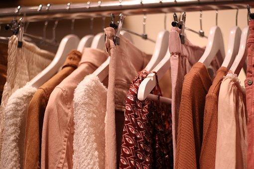 Clothes, Hangers, Shop, Shopping, Boutique, Shirts
