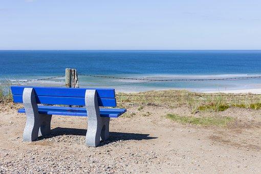 Sylt, Bank, Sea, North Sea, Landscape, Water, Coast