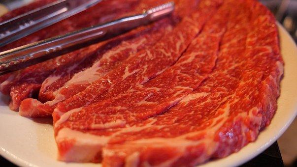 Korean Food, Bbq, Beef, Fresh, Delicious, Restaurant