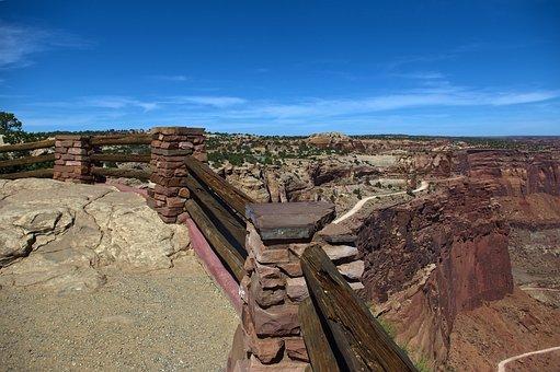 Shafer Canyon Overlook, Desert, Canyonlands, National