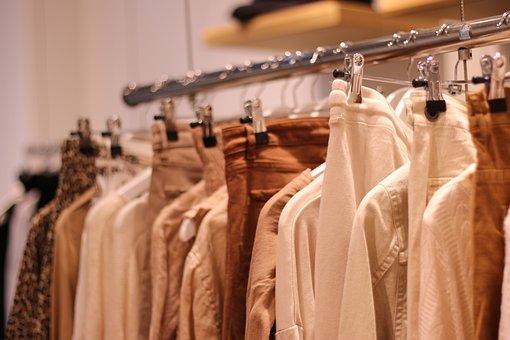 Clothing, Fashion, Hangers, Store, Shopping, Female