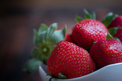 Strawberries, Red, Berries, Fruits, Fruit, Sweet, Food