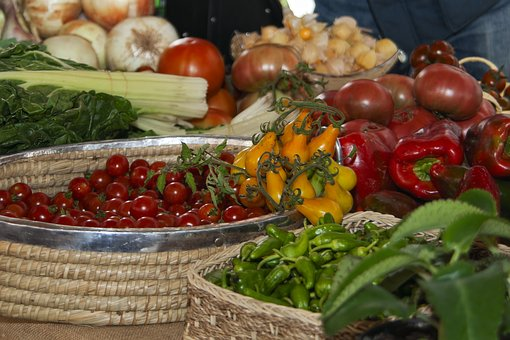 Vegetables, Tomatoes, Food, Fresh, Healthy, Organic