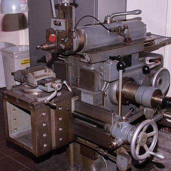 Machine Tool, Planer, Industry, Metalworking, Tool