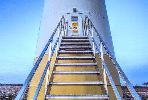 Pinwheel, Stairs, Gradually, Door, Input, Warning