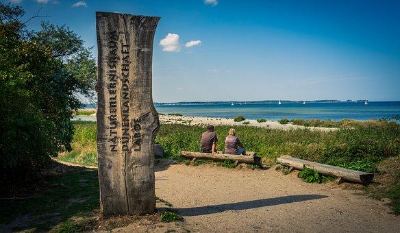 Landscape, Sea, Baltic Sea, Laboe, Dunes, Water, Nature