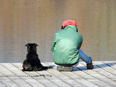 Man And Animal, Friendship, Harmony, Eintracht