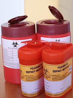 Containers For Medical Waste, Medical, Health Service