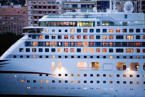 Cruise Ship, Cabins, Passenger Ship, Cruise