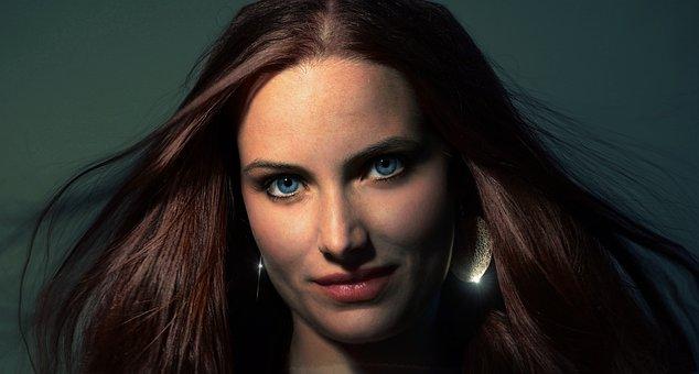 Woman, Portrait, Person, Face, Beauty, Beautiful, Hair