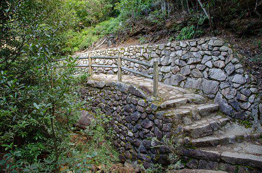 Stairway, Stairs, Steps, Staircase, Stone, Path