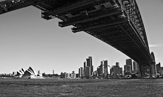 Sydney, Opera, Port, Water, Building, Architecture