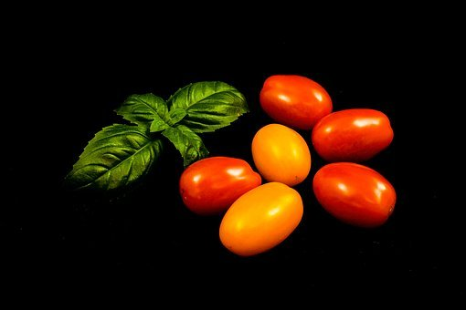 Tomato, Basil, Vegetables, Food, Healthy, Fresh