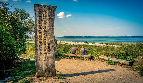 Landscape, Coast, Lake, Sea, Baltic Sea, Dunes, Water