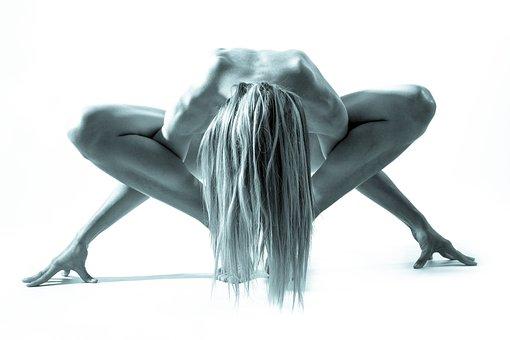 Woman, Act, Girl, Naked, Abstract, Erotic, Pose