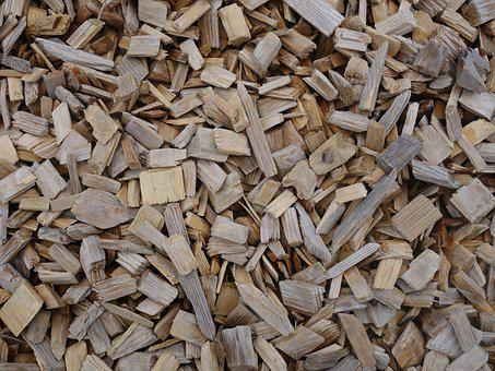 Pieces Of Wood, Wood, Many, Dry, Dehydrated, Baldwin