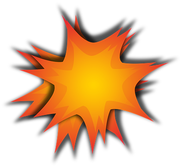 Explosion, Pow, Detonation, Bomb, Boom, Burst, Blaze