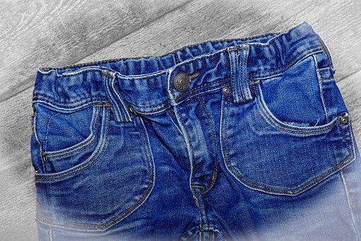 Jeans, Pants, Clothing, Blue, Blue Jeans