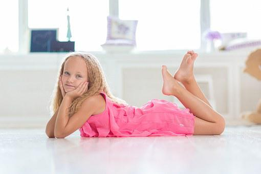 Young, Girl, Room, White, Cute, Happy, Caucasian, Home