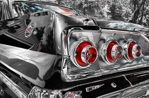 Chevrolet, Impala, Ss, 1966, Car