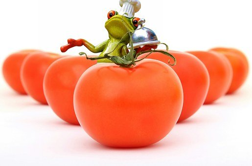 Tomatoes, Cooking, Frog, Cook, Healthy, Food