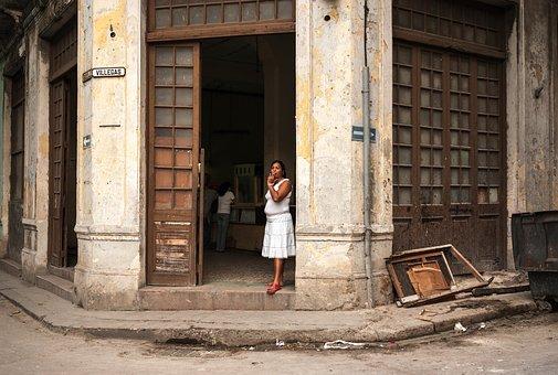 Cuba, Doors, Architecture