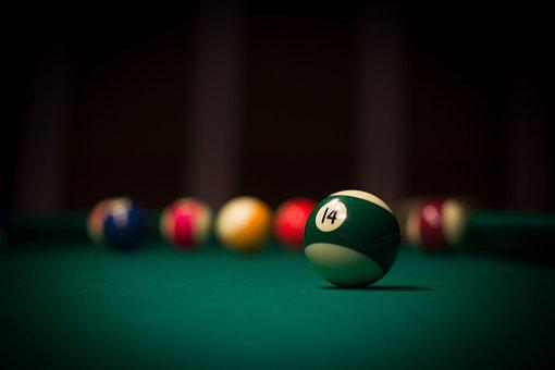 Ball, Cue, Pool Table
